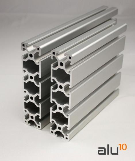 Aluminium Strebenprofil 40x160 CNC Machinen Arbeitstisch Aluminum