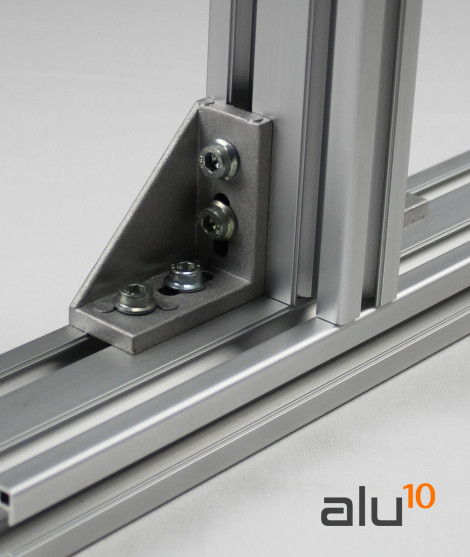 Profilé Aluminium rainure Equerre garde de machines système modulaire en aluminium Support de guidage linéaire