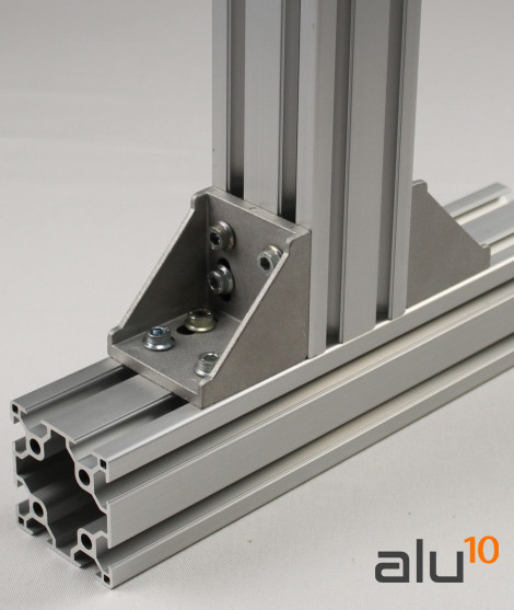 aluminium slot profile machines guard Bracket  aluminium aluminum door modular door