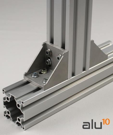 aluminium slot profile machines guard Bracket  aluminium aluminum door modular door