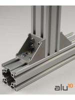 CNC alluminio Staffa profilo della porta guardia di macchine porta modulare CNC modulare