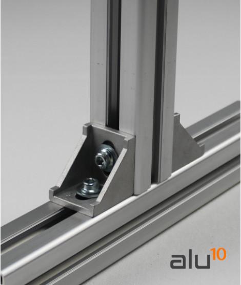 perfil Aluminio Ranurado aluminio máquinas vallado aluminio proteccion máquinas bricolaje aluminio