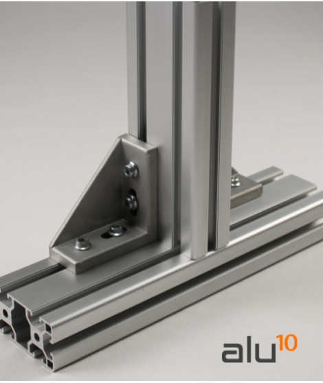 clôture en aluminium aluminium structurel Profilé Aluminium rainure Profilé Aluminium aluminium modulaire