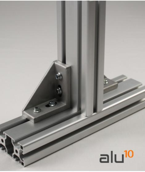 Aluminium-Baukastensystem modulare Systemmaschine Modulare CNC Aluminium Zubehör Aluminiumbank strukturelle profile
