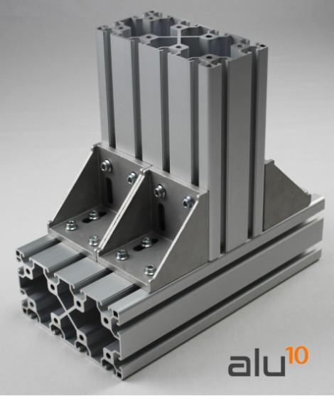 Aluminium Strebenprofil  Aluminium Nutprofil Strukturelle Aluminiumprofile Aluminiummaschinen CNC Aluminium