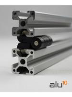 Aluminium Nutprofil  Aluminium Strebenprofil  Aluminiummaschinen Aluminium Zubehör modularer Arbeitstisch
