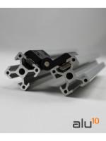 viti in alluminio facili macchina di sistema modulare Guida in alluminio Profilo Alluminio Scanalatura