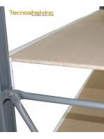 Metal shelvings working table