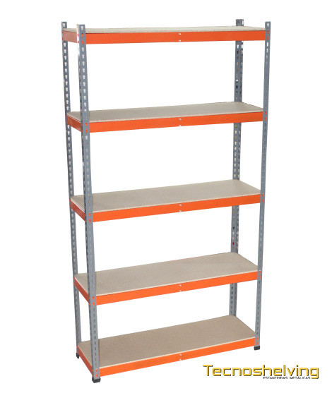 Robust metal shelf Storage shelving