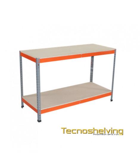 Scaffalatura metallicha tavolo di lavoro tecnoshelving