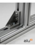 alluminio strutturale recinzione alluminio letto della macchina guardia di macchine