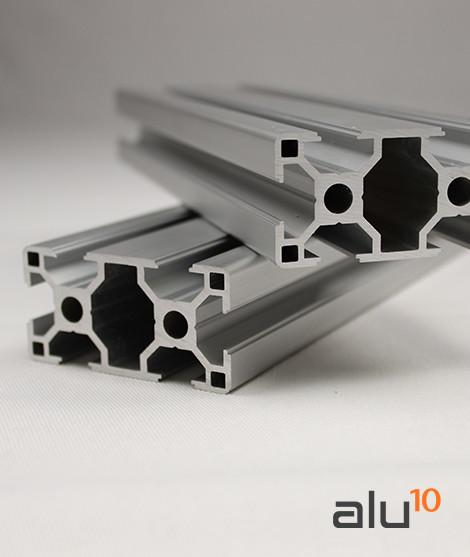 Perfil Aluminio Ranurado 3060