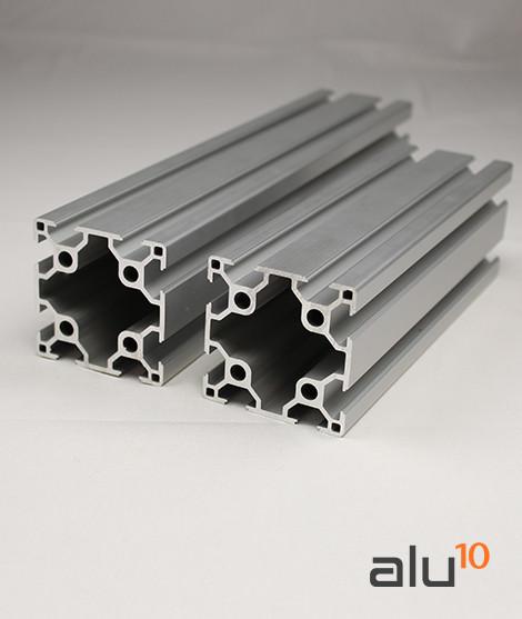 Perfil Aluminio Ranurado 6060