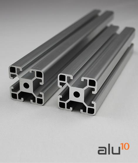 Perfil Aluminio Ranurado  4040